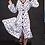 Thumbnail: Print Dots Bubble Coat-Dress