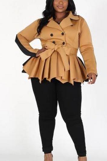 Tan Blouse/Jacket