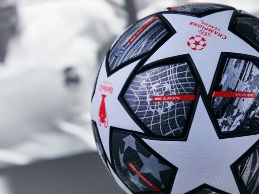 Duas décadas que as estrelas da UEFA Champions League são desenhadas pela adidas Football.