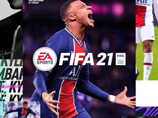 O FIFA21 chega oficialmente ao mercado hoje (9).