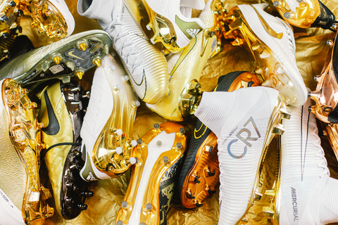 GOLD BOOTS COLLECTION