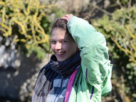 Ein Herz für Vögel -  Mona als Vogelberingerin auf der Greifswalder Oie