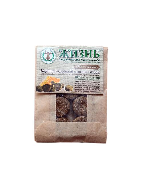 Пластины корней ячменя с медом, 10 шт/10 г