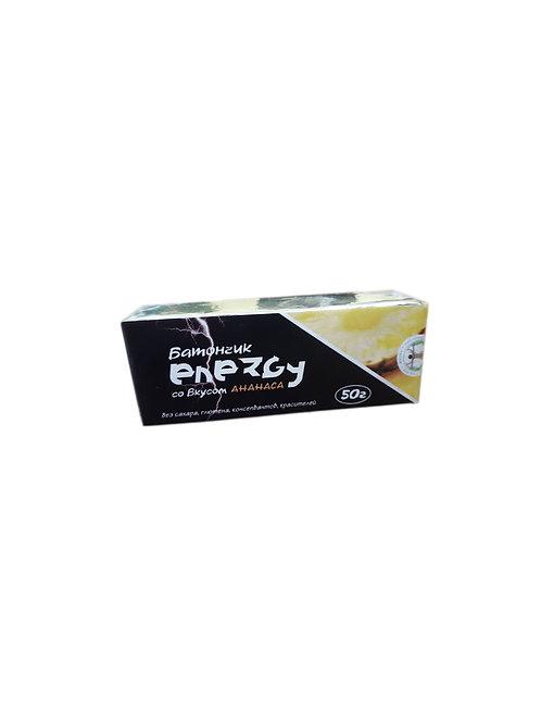 """Батончик протеиновый """"Energy"""" со вкусом ананаса, 50 г"""