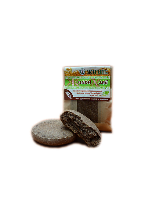 """Live bread"" made of Chornobrova wheat, 130 g"