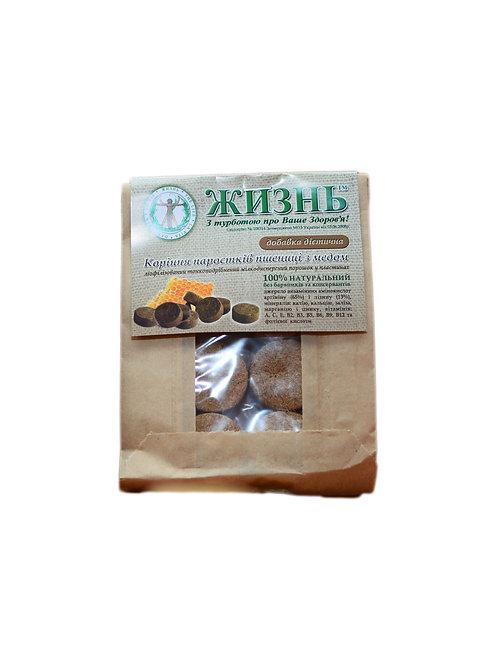 Пластины корней пшеницы с медом, 10 шт/10 г