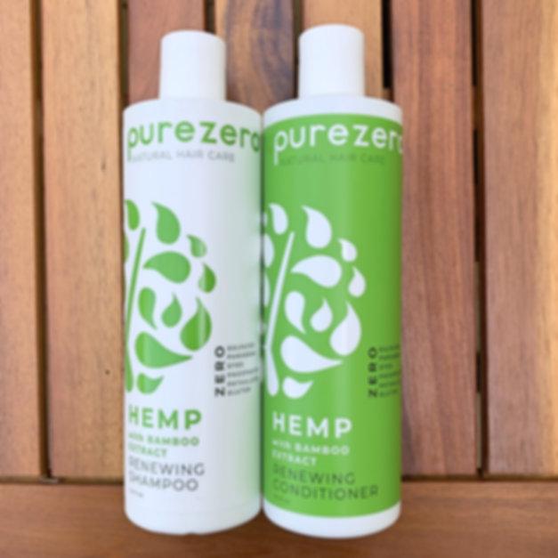 Purezero Help with Bamboo Shampoo Conditione