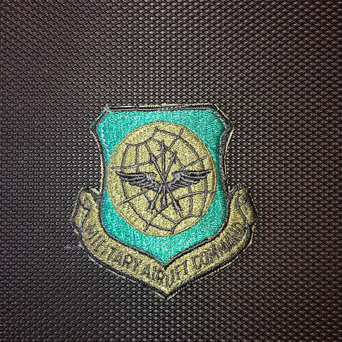 Military Airlift Command Subdued Patch