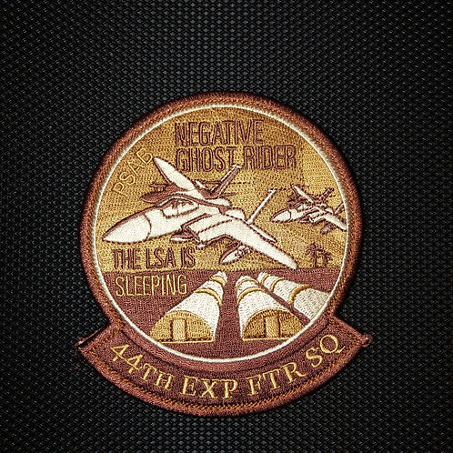44th Fighter Squadron 2020 Deployment Patch
