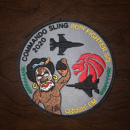 80th Fighter Squadron Commando Sling 2020 Patch