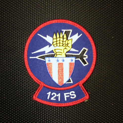 121st Fighter Squadron Official Patch