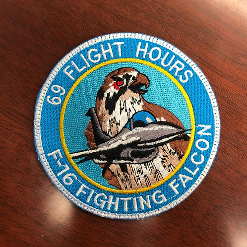 309th Fighter Squadron 69 Hours Patch