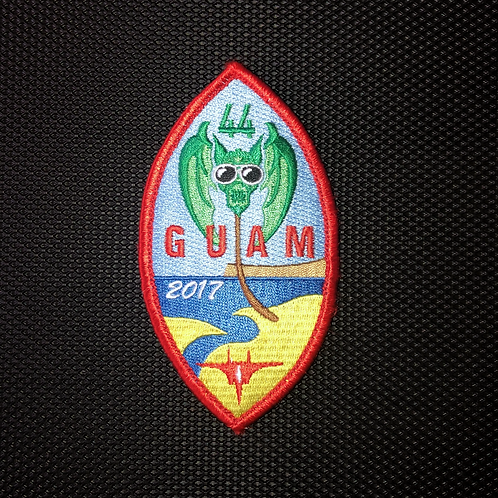 44th Fighter Squadron Guam 2017 Patch