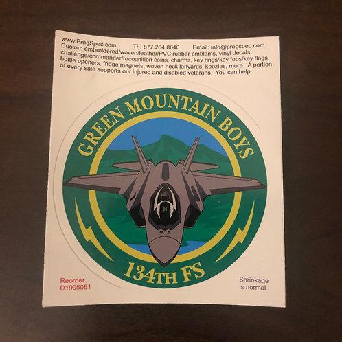 134th Fighter Squadron Zap