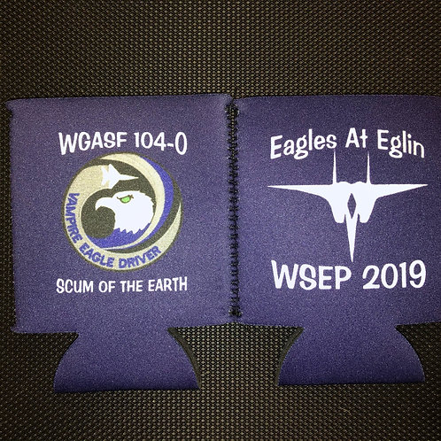 44th Fighter Squadron WSEP 2019 Koozie