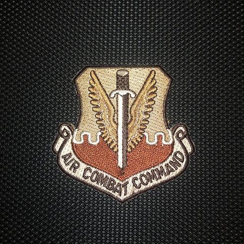 Air Combat Command Desert Patch No Velcro