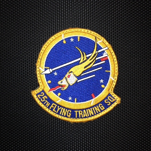 25th Flying Training Squadron Official Patch