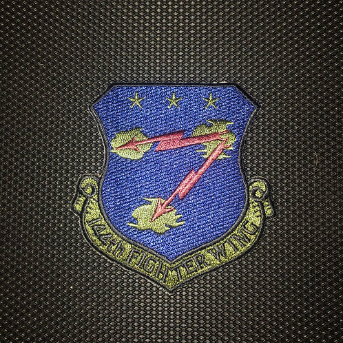 144th FW Subdued Wing Patch No Velcro