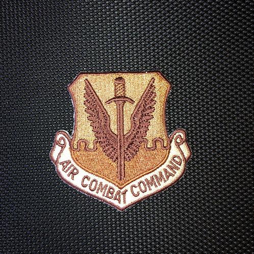 Air Combat Command Deset Patch No Velcro