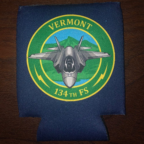 134th Fighter Squadron Koozie