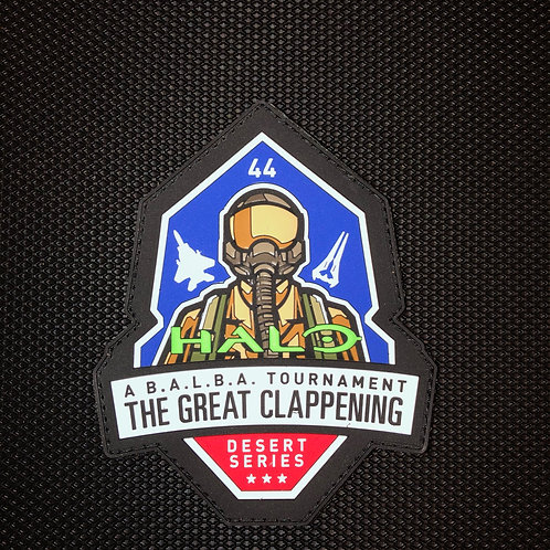 44th Fighter Squadron 2020 Deployment Halo Patch