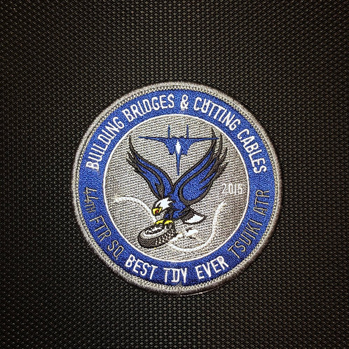 44th Fighter Squadron Tsuiki TDY Patch