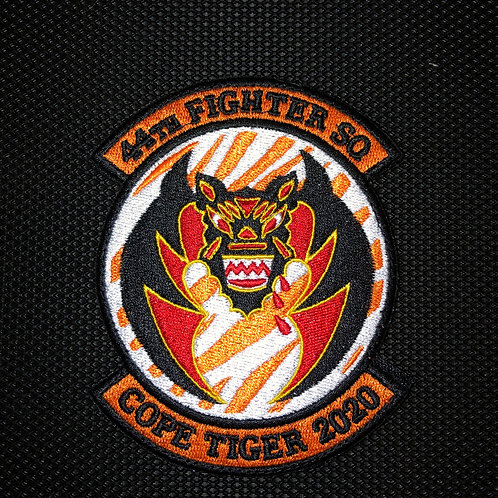 44th Fighter Squadron Cope Tiger 2020 Patch