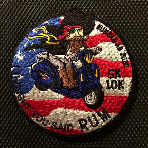 35th FS Kunsan Rum Run Patch
