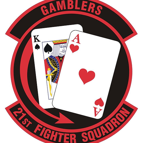 21st Fighter Squadron Official Patch
