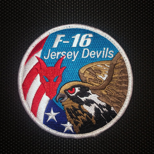 119th Fighter Squadron Swirl Patch