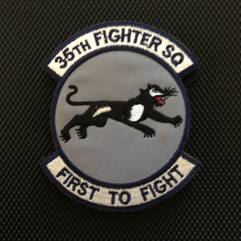 35th FS Official Squadron Patch