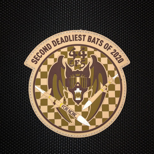 44th Fighter Squadron 2020 Deployment Bats Patch