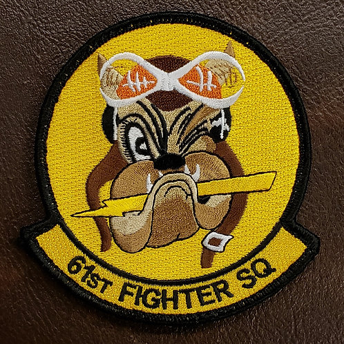 61st Fighter Squadron Official Patch