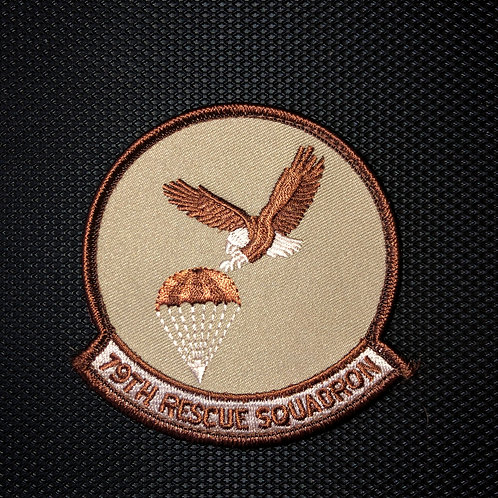 79th Rescue Squadron Desert Patch