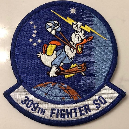 309th Fighter Squadron Official Patch