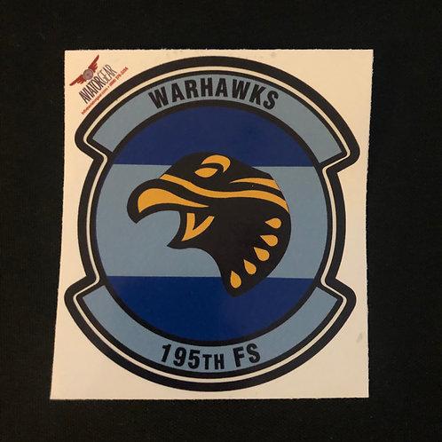 195th Fighter Squadron Zap