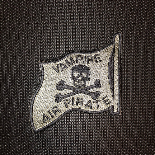 44th Fighter Squadron Vampire Air Pirate Patch