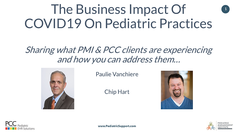 The Business Impact Of COVID19 On Pediat