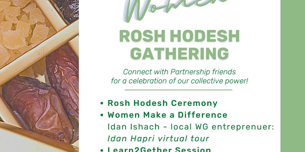 Women Rosh Hodesh Gathering