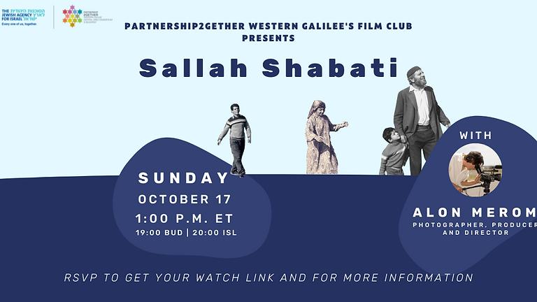 P2G Film Club - Sallah Shabati