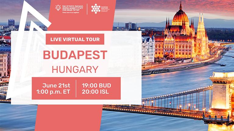 Budapest Live Virtual Tour