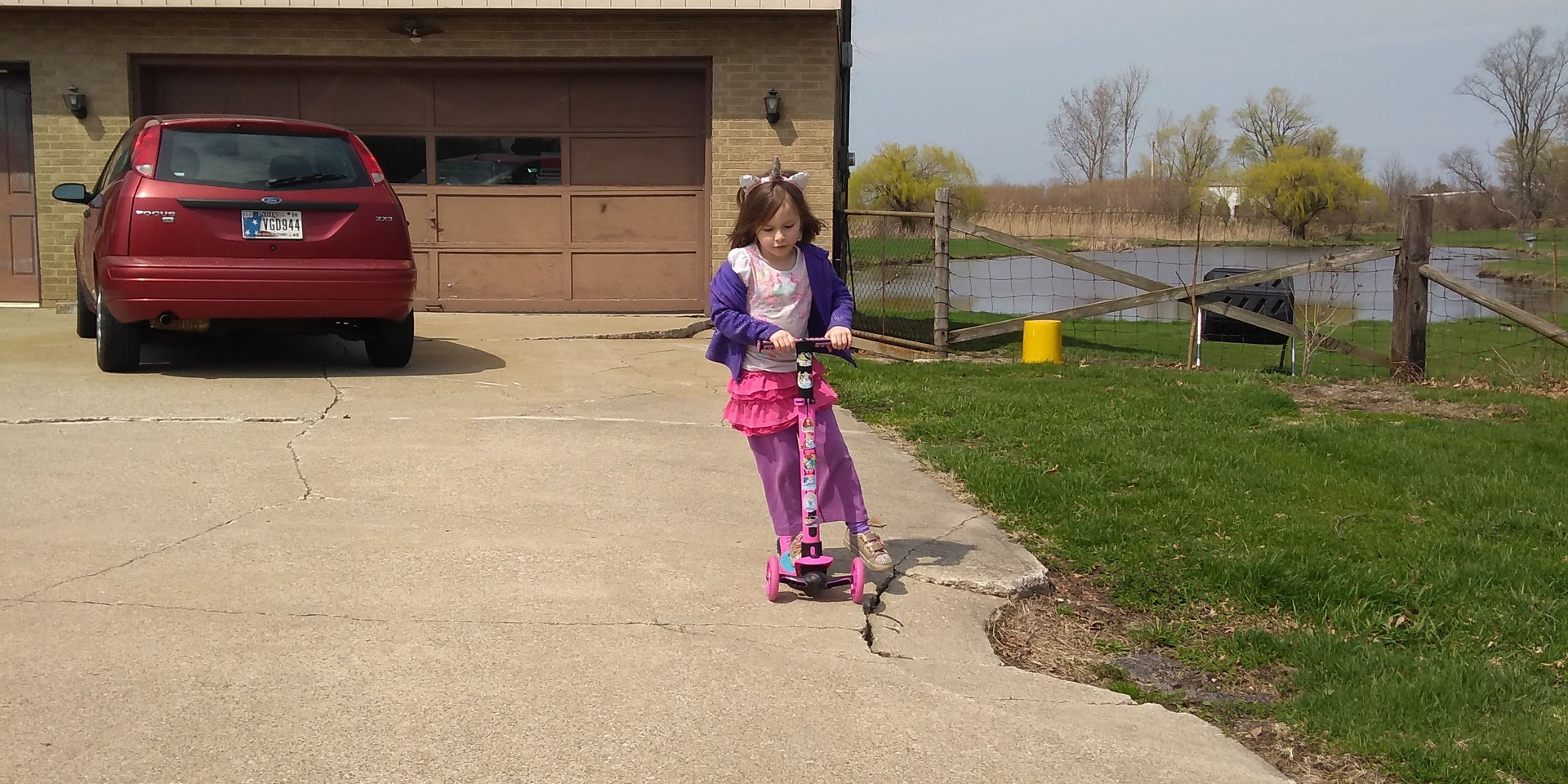 Aria Scootering