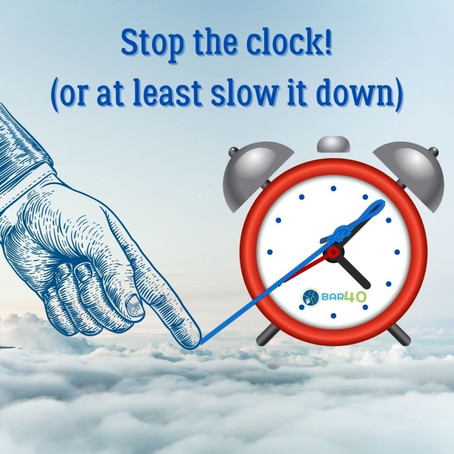 Stop the Clock: Not quite the fountain of youth, but close