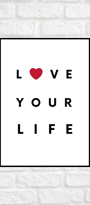 AFFICHE LOVE YOUR LOVE A4