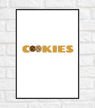 AFFICHE COOKIES A4