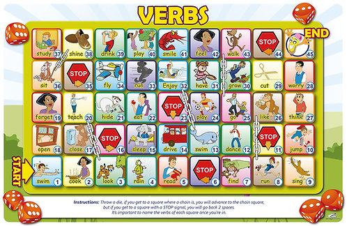 Tableros para juegos Verbs