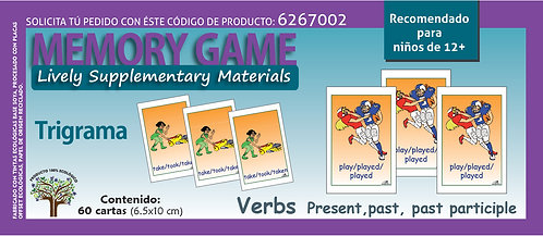 Trigrama Verbs Present, past, past participle