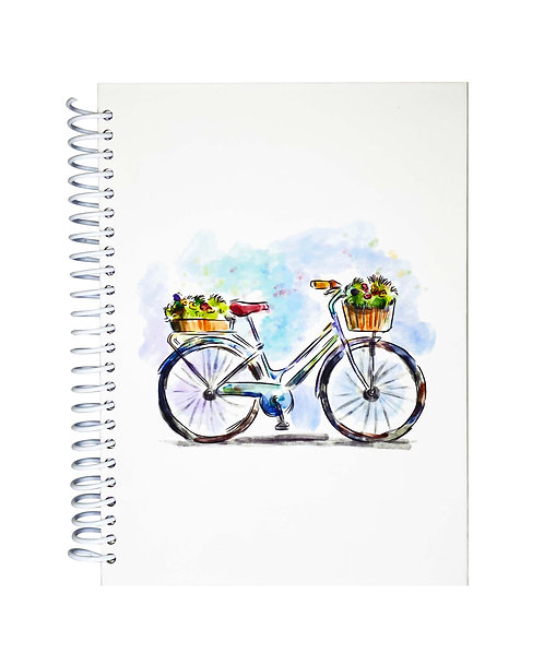 Libreta Lila Bike