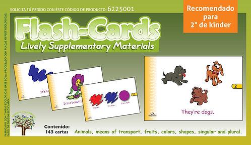 Flash-cards en inglés Recomendado Para Edades 4+