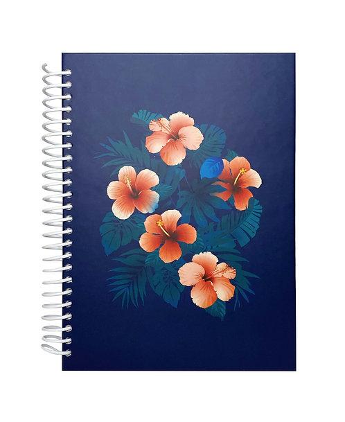 Libreta Tropical Flowers